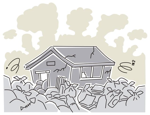 ゴミ屋敷状態の不用品回収費用の相場は?