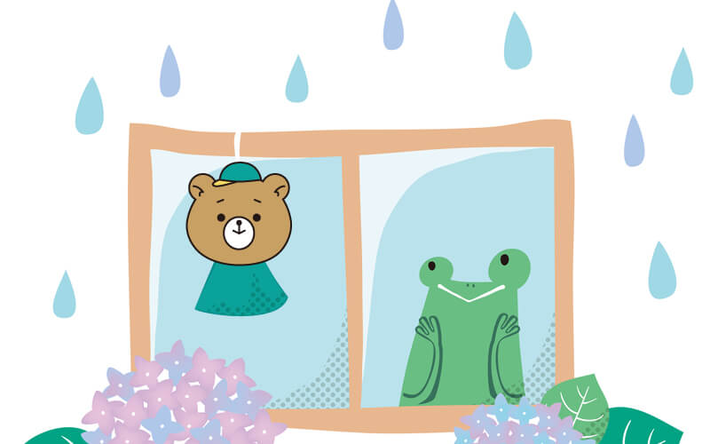 梅雨時期のご予約状況・作業について